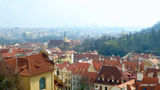 High Quality Prague Castle: Red Roofs Of Prague