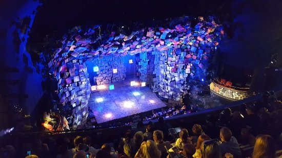 Matilda the Musical : Opening view of stage - Matilda