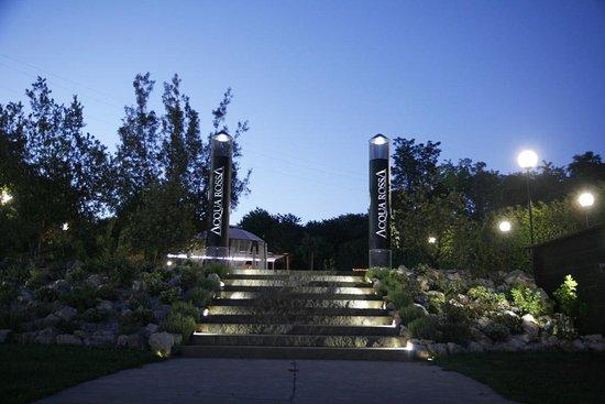 Hotel Benessere Acqua Rossa: Il parco