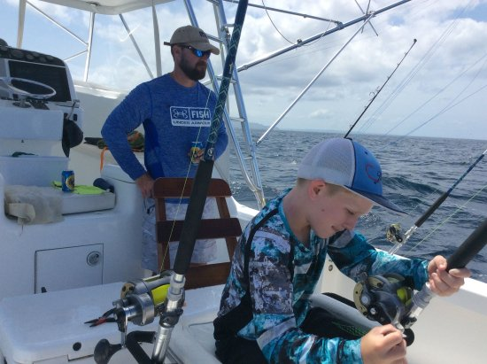 Golfo de Papagayo, Costa Rica: Next Generation Fishing