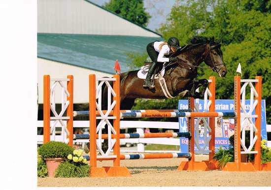 Medina, MN: Cayenne and Stacy competing at the Kentucky Horse Park