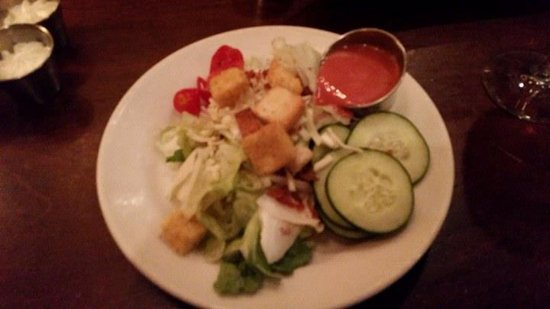 Hereford House Side Salad with Raspberry Creamy Vinaigrette