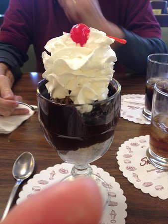 Shady Glen Dairy Stores: Hot Fudge Sundae