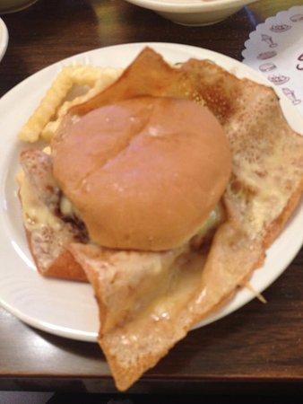 Shady Glen Dairy Stores: Cheeseburger With Wings