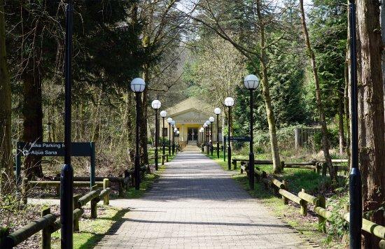 Center Parcs Longleat Forest The Path To Aqua Sana Spa Experience