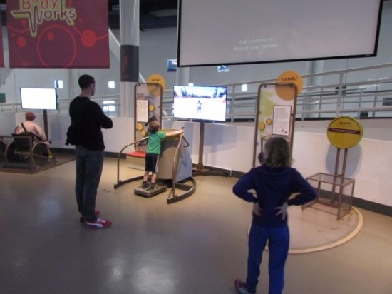 Science World: Lots to do for kids