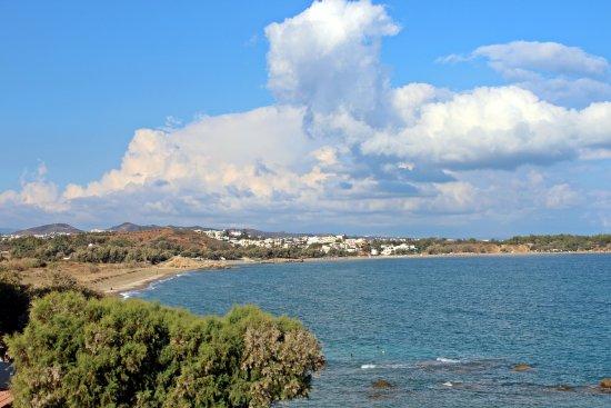 Klinakis Beach Hotel: View from room