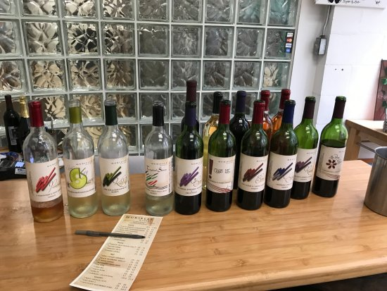 Murielle Winery: Our tasting selection