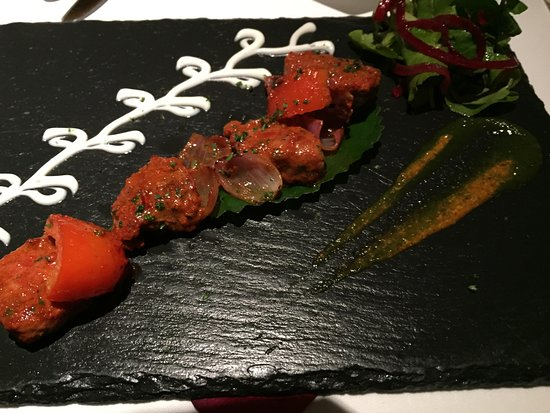 Le Raj Restaurant: Just one of the excellent starters available