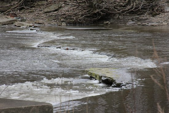 Ashtabula, OH: Water was flowing
