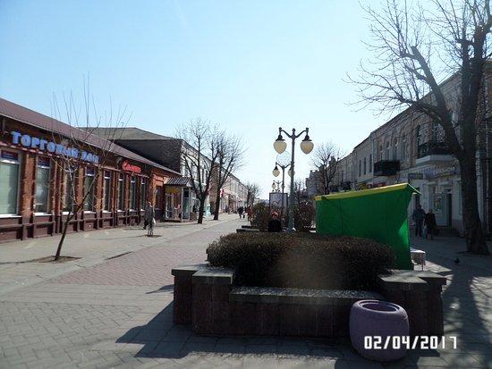 Pedestrian Street Sotsialisticheskaya