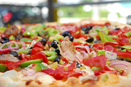 "Sunny Isles Beach, FL: Supreme Pizza "" all dressed """