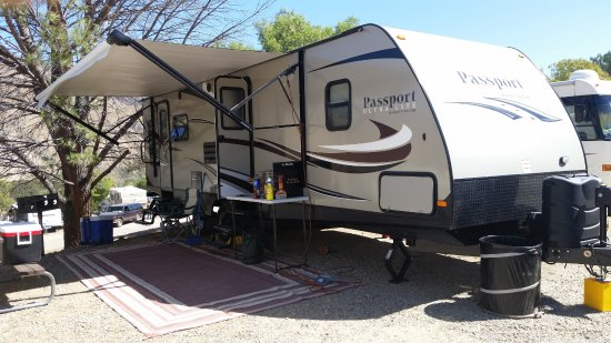 Rancho Oso RV & Camping Resort: We towed our room with us.