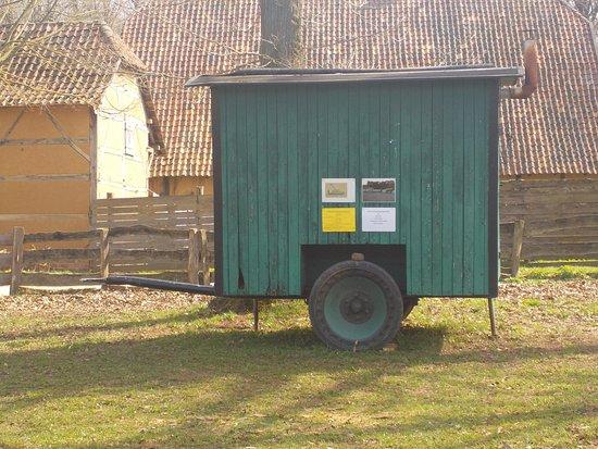 Mechernich, Germania: einer der Schäferwagen auf dem Gelände