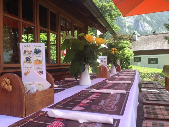 Bad Goisern, Austria: Tischdeko