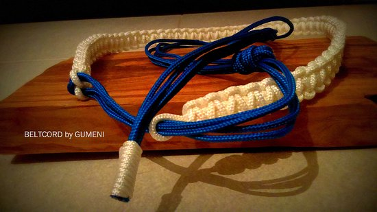 Sudurad, Kroatien: sailor's cord belt by gumeni