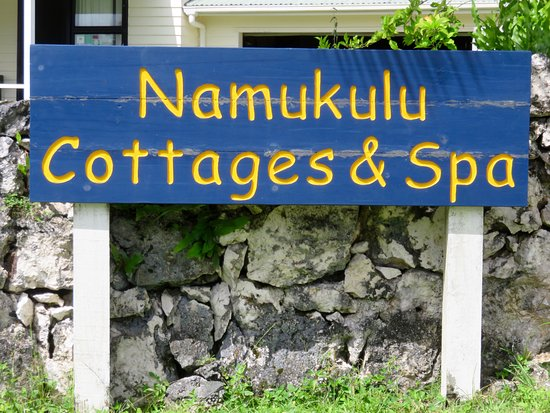 Namukulu Cottages & Spa: A Welcome Sign