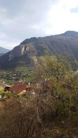 Moutiers, Γαλλία: La vue depuis l'une des chambres