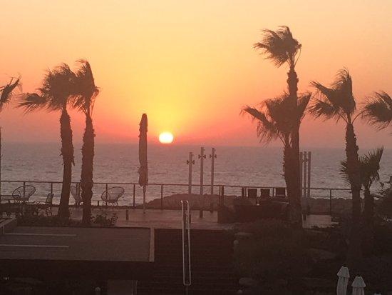 Dan Accadia Hotel Herzliya: What a view.....