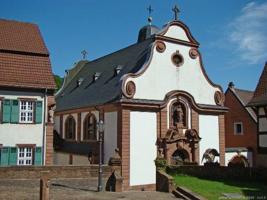 Neckarsteinach, Alemania: католическая церковь