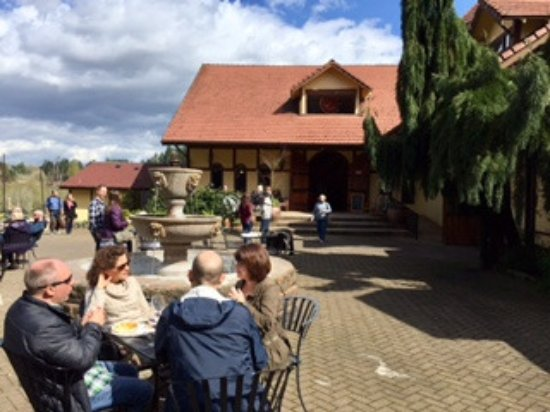 Canby, OR: St. Josef Winery -- patio and main entrance