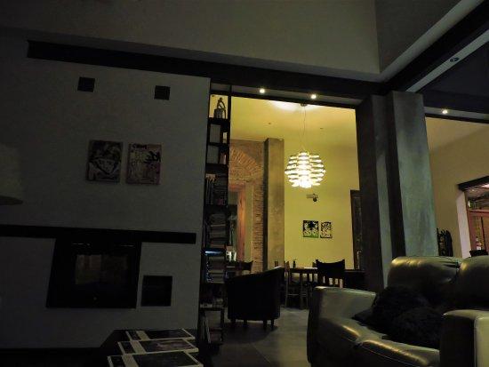 Posada Las Terrazas: Vista de la sala de estar