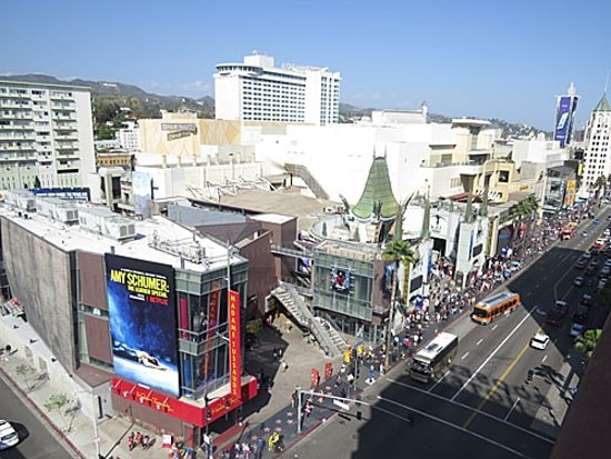 The Hollywood Roosevelt: View from our froom on the frontside of the hotel.