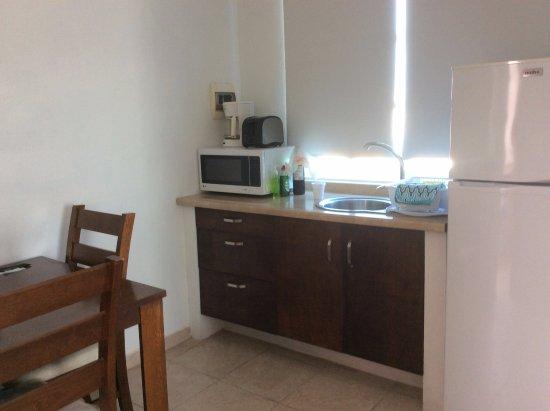 Hotel Xbulu-Ha: Kitchen in Junior Suite 8S