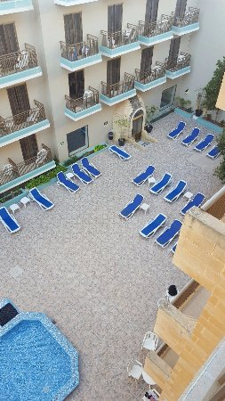 Foto de The Bugibba Hotel