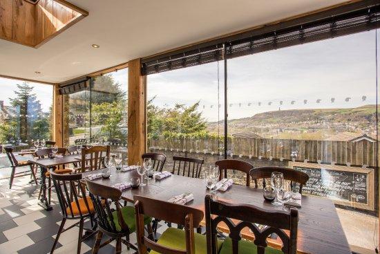 Ramsbottom, UK: Orangery dining area