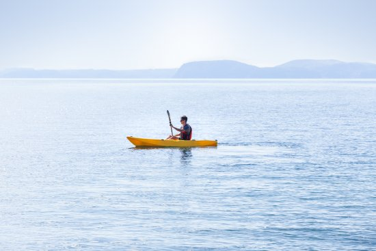 Motutere Bay Holiday Park: A great place for water sports