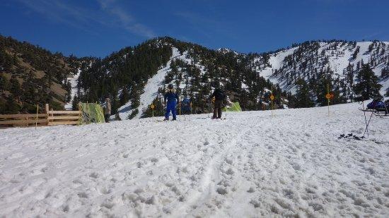 Mount Baldy, CA: snow