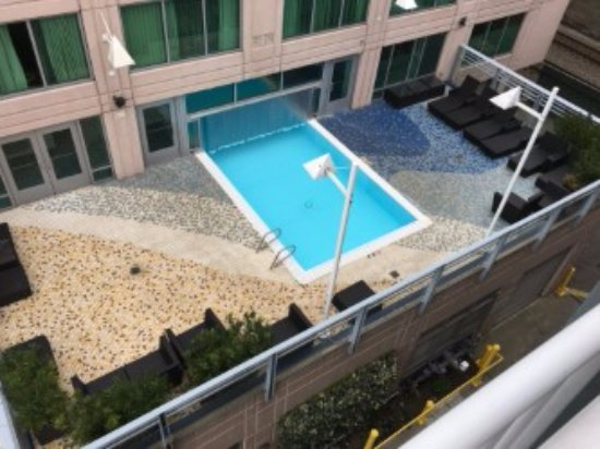 Indoor Outdoor Pool Picture Of Seattle Marriott Waterfront Seattle Tripadvisor