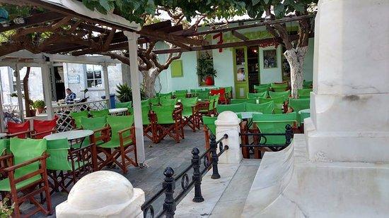 7th Heaven coffee shop : Exterior del lugar