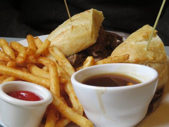 Rosebud, Canadá: Food - Beef dip