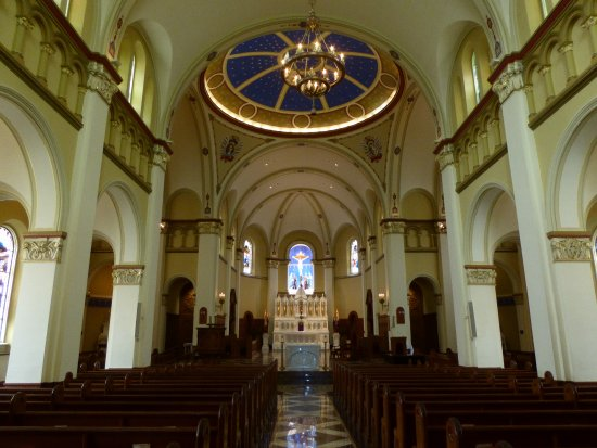 Emmitsburg, MD: Immaculate Conception Chapel Interior