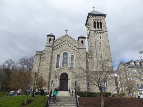 Mount St. Mary's University and Seminary: Immaculate Conception Chapel
