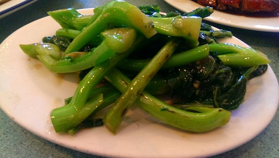 Clayton, Australia: Chinese Broccoli in Oyster Sauce
