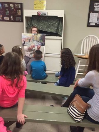 Westford, MA: Story time instead of educational video