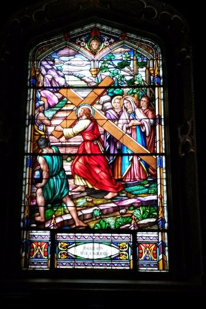 Ottawa, Canada: Beautiful stained glass windows... each are different.