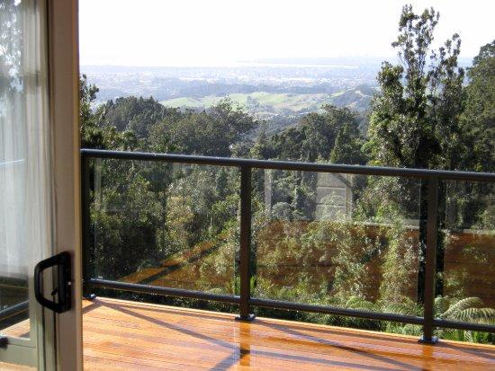 Waiatarua, Nowa Zelandia: View from Gate Villa