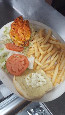Cle Elum, WA: Chicken Burger