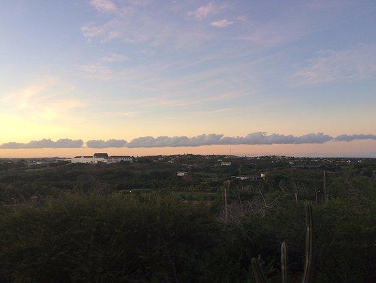 El Gaucho: sunset
