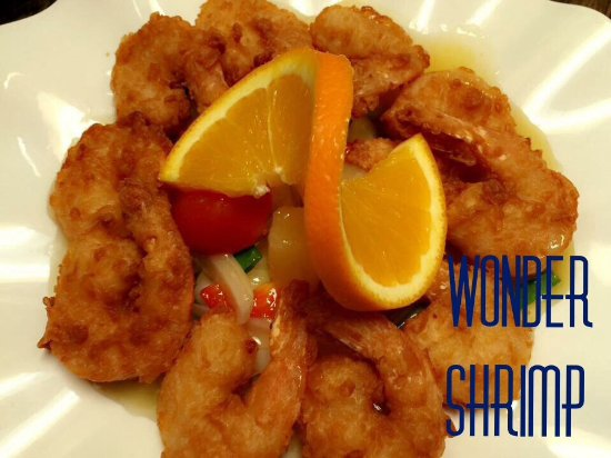 The Key Thai Restaurant and Sushi Bar: Wonder shrimp