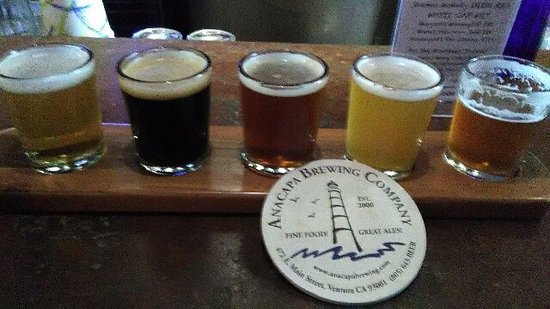 Anacapa Brewing Company: A nice flight