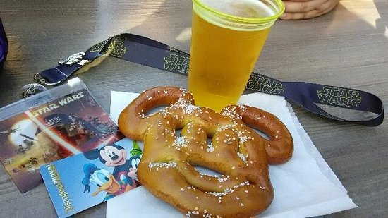 Image result for pretzels california adventure