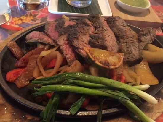Moorestown, NJ: adobe skirt steak fajitas