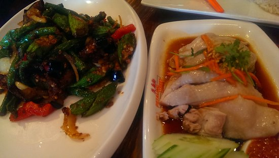 Clayton, Australia: Belechan Vegetables, Steamed Chicken