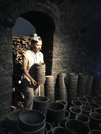 Wangcheng County, Chiny: A wax figure giving a sense of realism