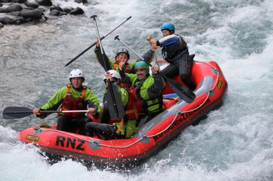 Rafting New Zealand: Plus de 50 rapides...level 3